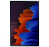Samsung Galaxy Tab S7 Plus Kılıf 12.4inç - 2020 SM-T970 T975 T976 T978 Zore Defender Zırh Tipi Koruyucu Tablet Silikon Siyah