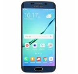 Samsung Galaxy S6 Edge Zore 4D First Glass Cam Ekran Koruyucu Siyah